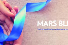 Mars Bleu, le mois du dépistage du cancer colorectal
